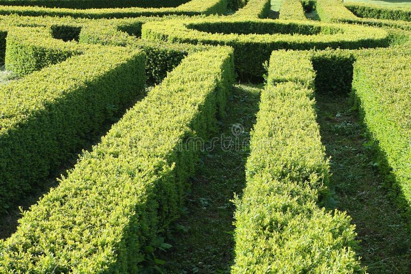 Barriera del giardino immagini stock
