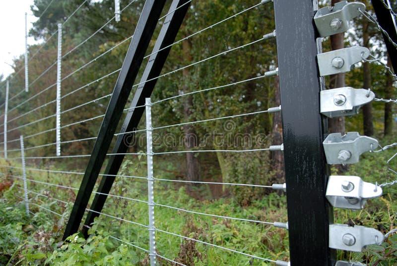 Barriera di sicurezza. fotografia stock