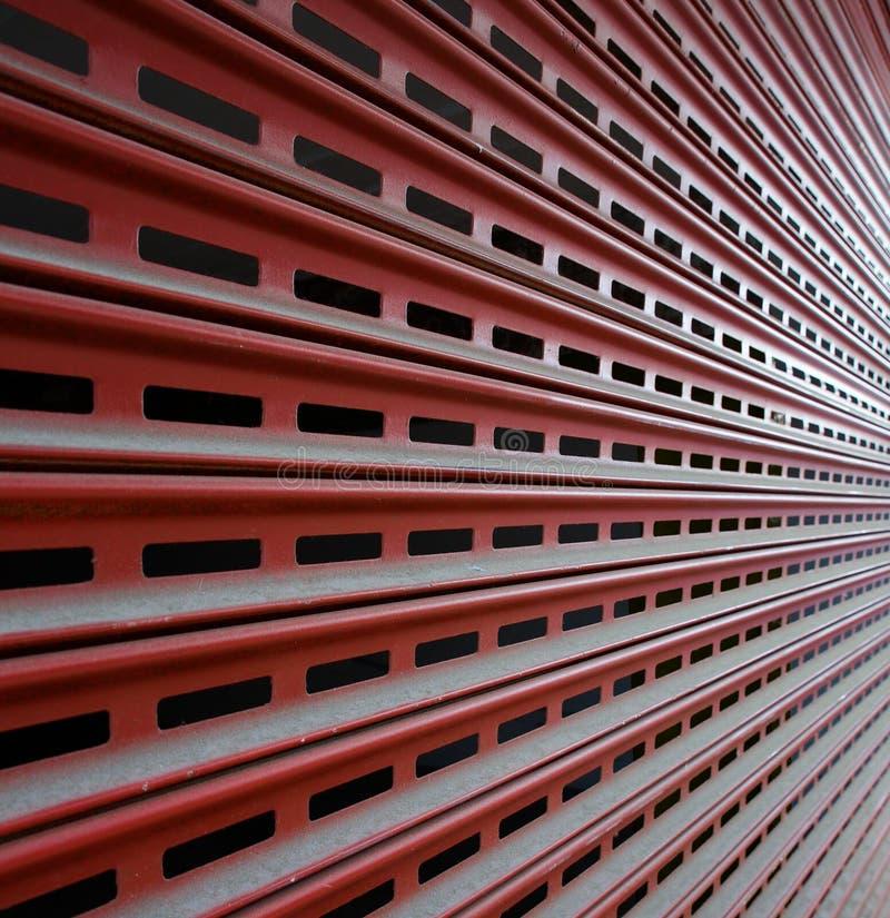 Barriera di sicurezza del garage immagini stock