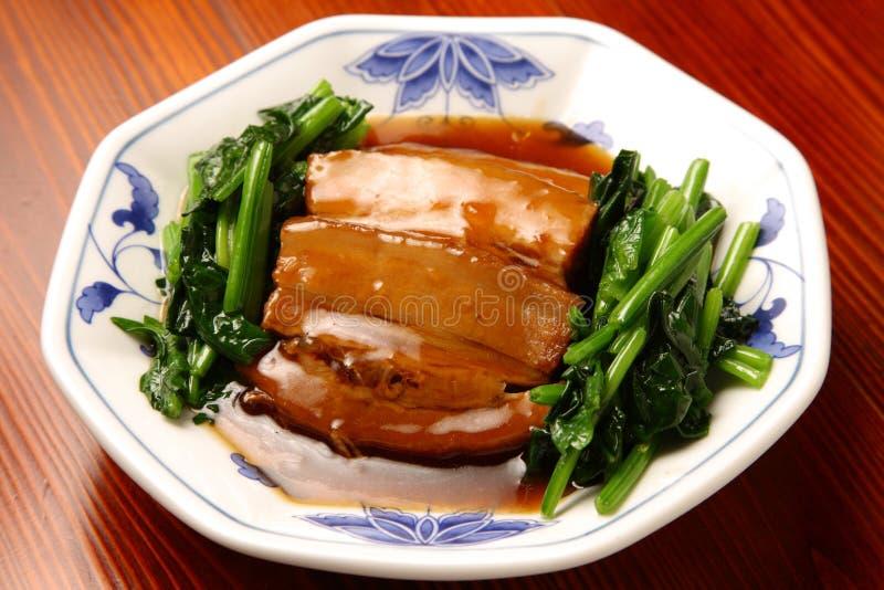 Barriga de carne de porco chinesa imagem de stock royalty free