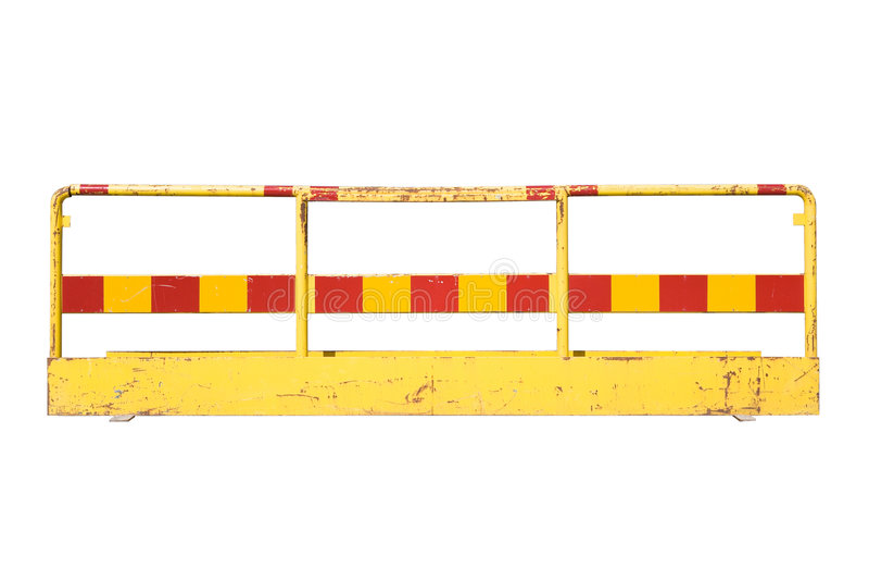 Barrikade stockfotografie