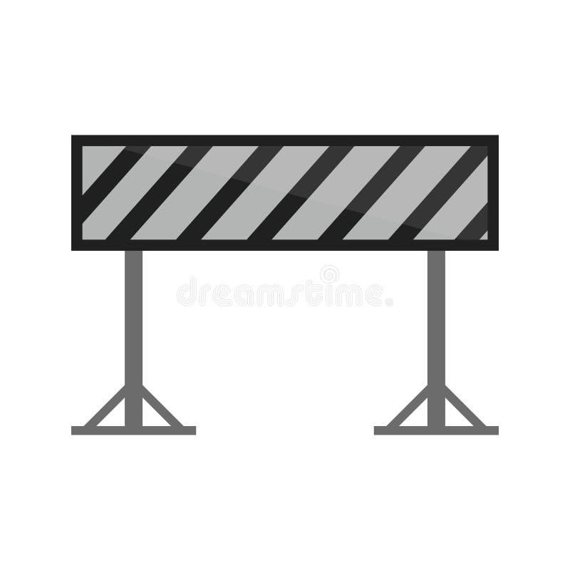 barrikaden royaltyfri illustrationer