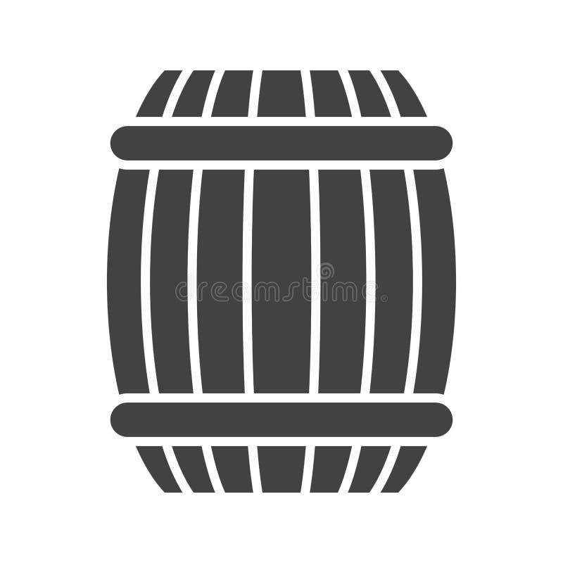 barril ilustración del vector