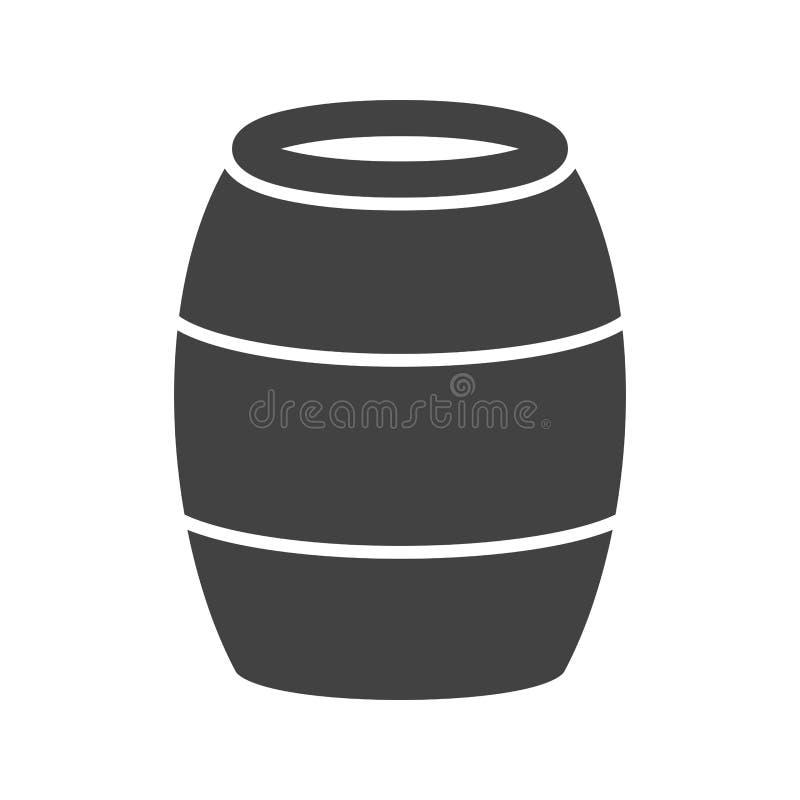 barril stock de ilustración