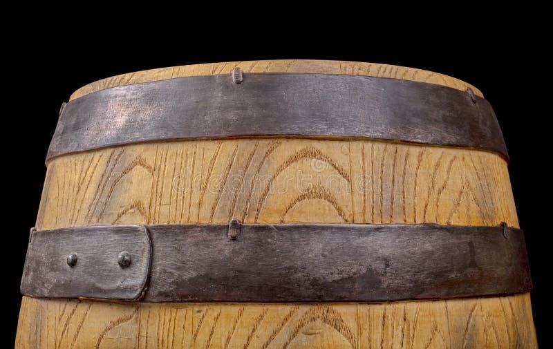 Barril de la bebida de la fermentación alcohólica o del almacenamiento foto de archivo libre de regalías