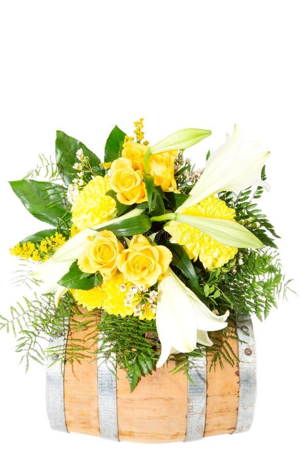 Barril 9 de la flor fotografía de archivo libre de regalías