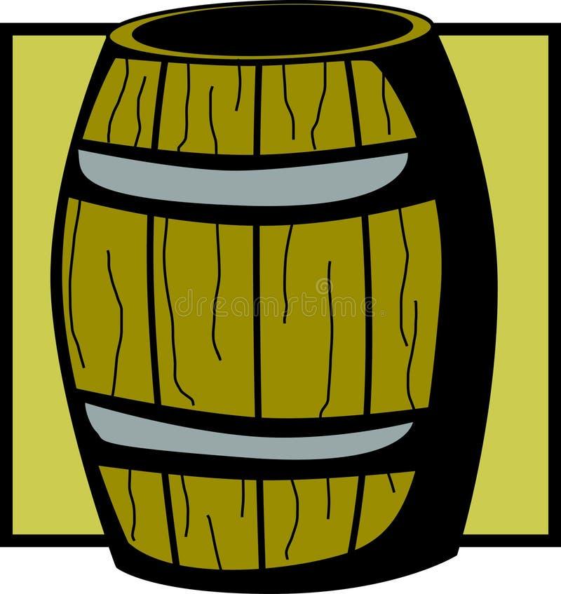 Barril de madera libre illustration