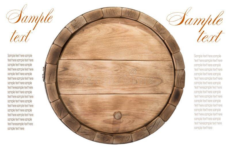 Barril de madera imagenes de archivo