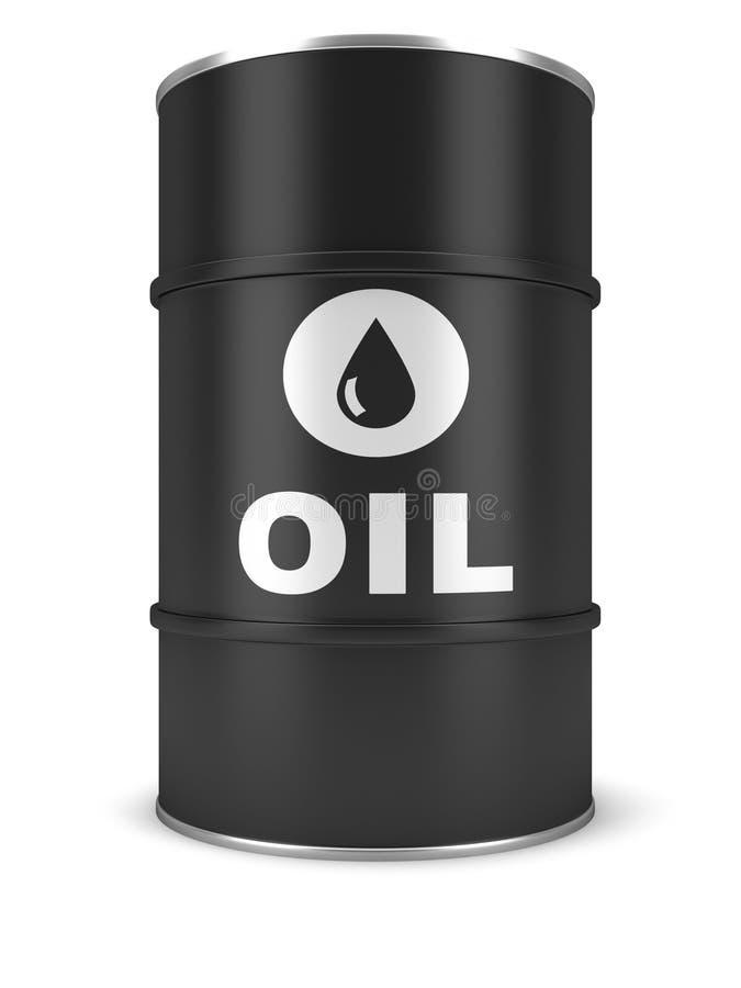 Barril de petróleo stock de ilustración
