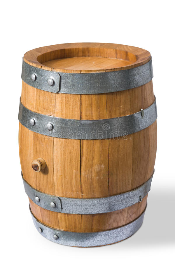 Barril de vino fotografía de archivo libre de regalías