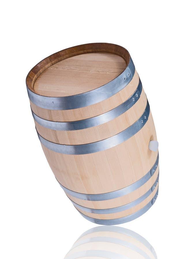 Barril de vino del balanceo fotos de archivo