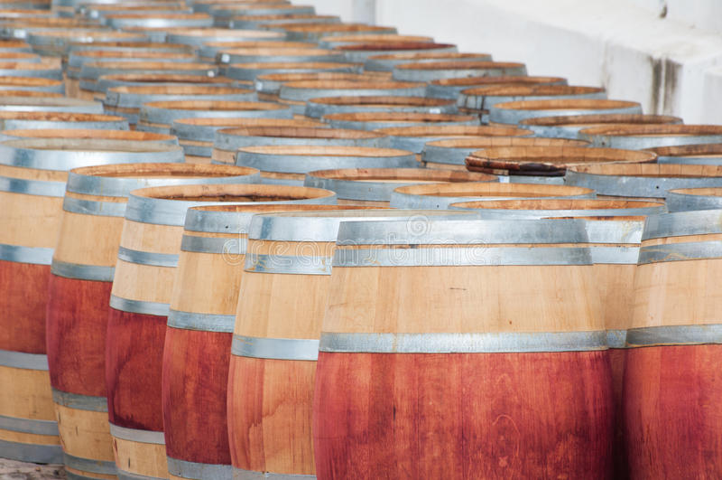 Barril de vino, Stellenbosch, Western Cape, Suráfrica fotos de archivo