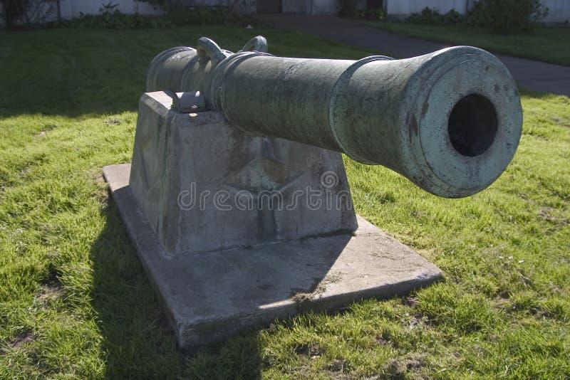 Barril del cañón imagen de archivo
