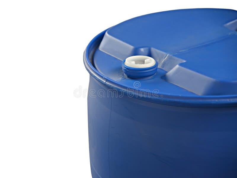 Barril plástico imagen de archivo