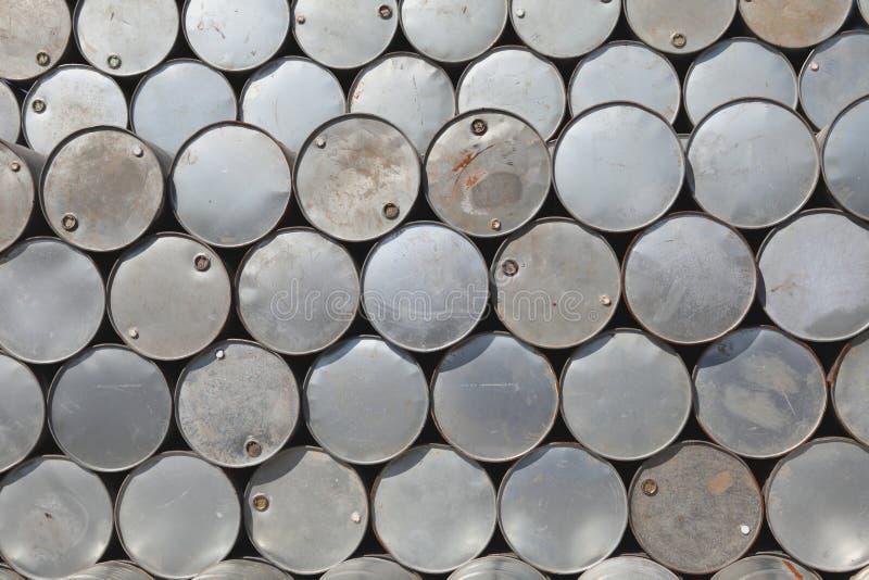 Barriles de petróleo imagen de archivo libre de regalías