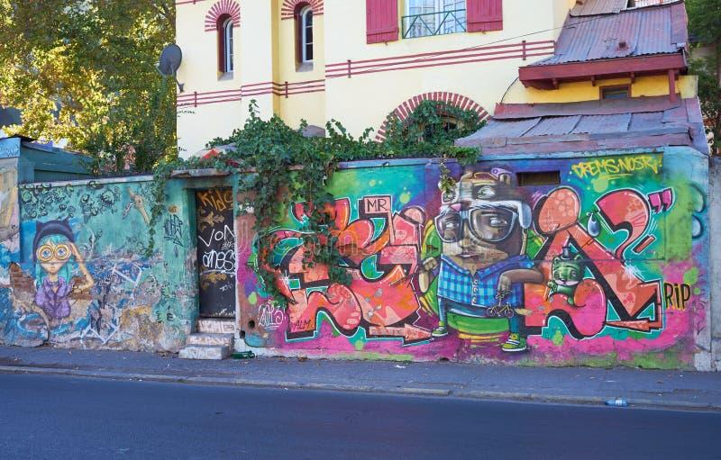 Barrio Bellavista stockbild