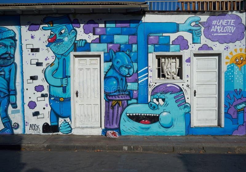 Barrio Bellavista stockfotografie