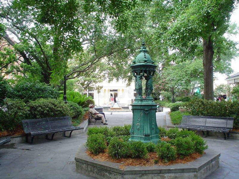 Barrio francés del parque de Latrobe imagen de archivo libre de regalías