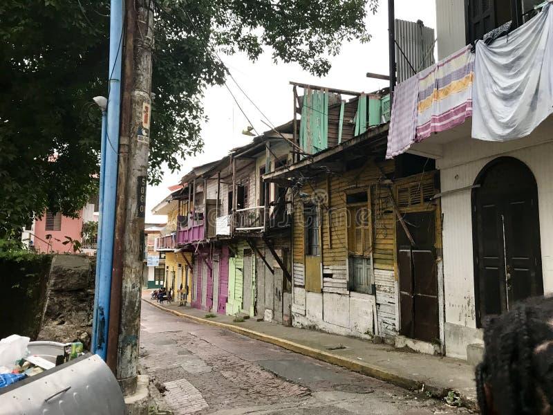 Barrio in Latein-Amerika stockbilder