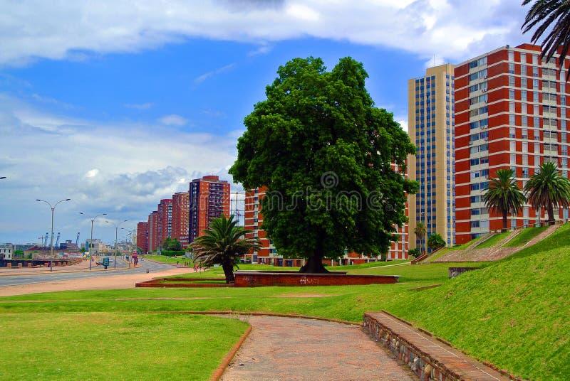 Barrio Sur, Montevideo lizenzfreie stockbilder
