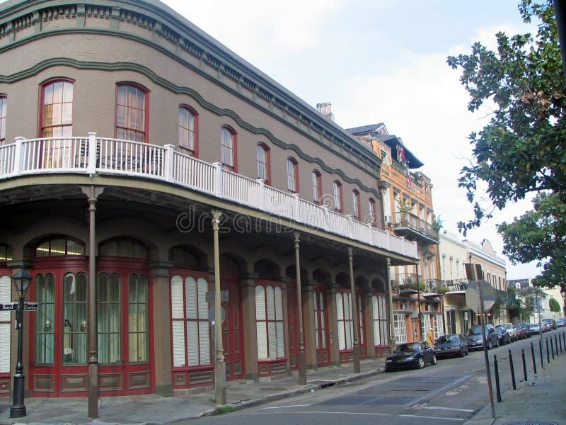 Barrios franceses (New Orleans) imagenes de archivo