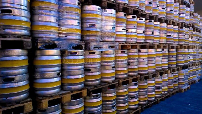 Barris de cerveja foto de stock royalty free