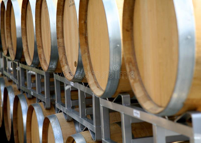 Barris de vinho imagem de stock royalty free