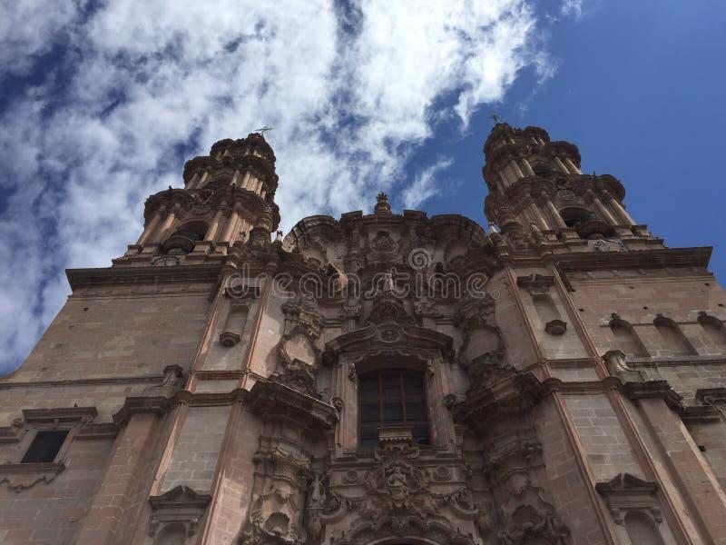 Barroco kyrka arkivfoto