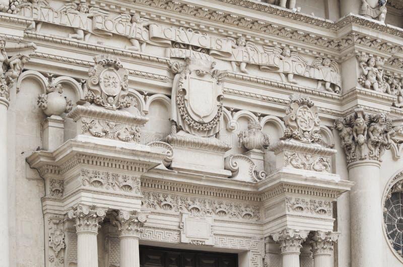 Barroco - Lecce, Itália fotografia de stock royalty free