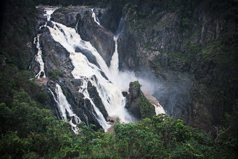 Barron Falls. North Queensland in the Wet Season royalty free stock photos