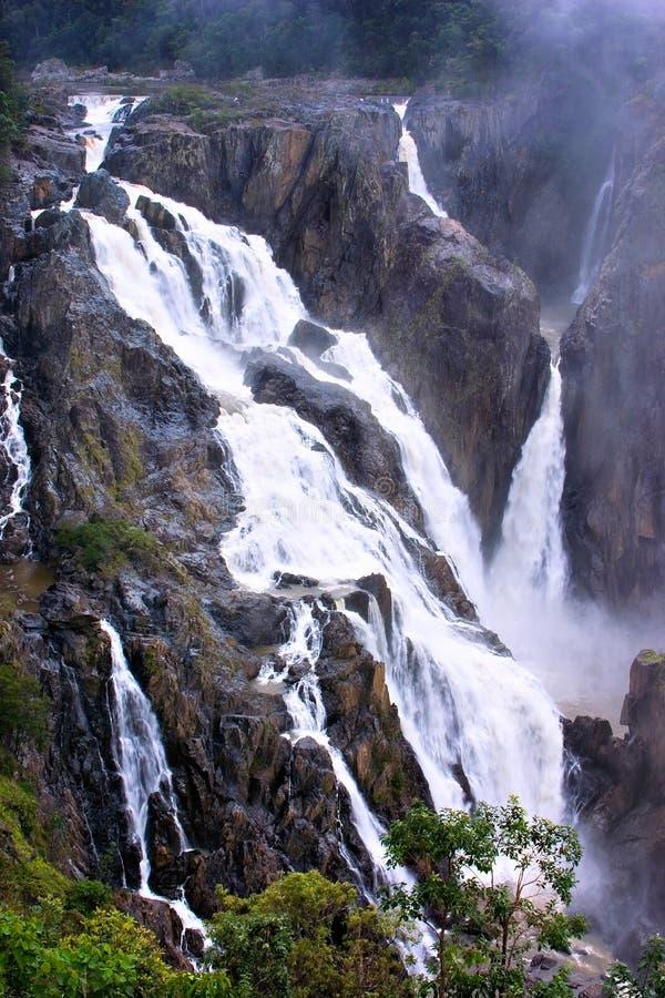 Barron Falls stock images