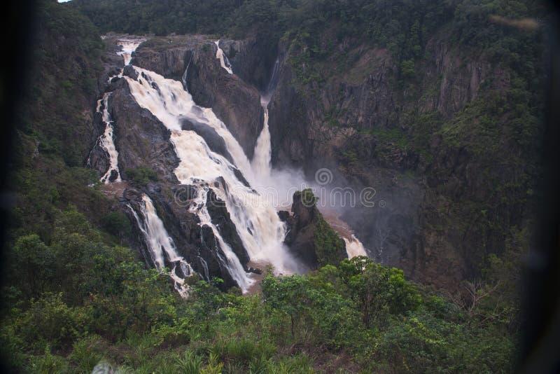 Barron Falls in de Zomer royalty-vrije stock afbeeldingen
