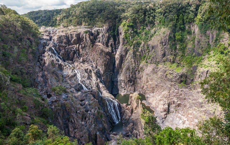 Barron Falls en Barron Gorge National Park, Kuranda Australie photos stock