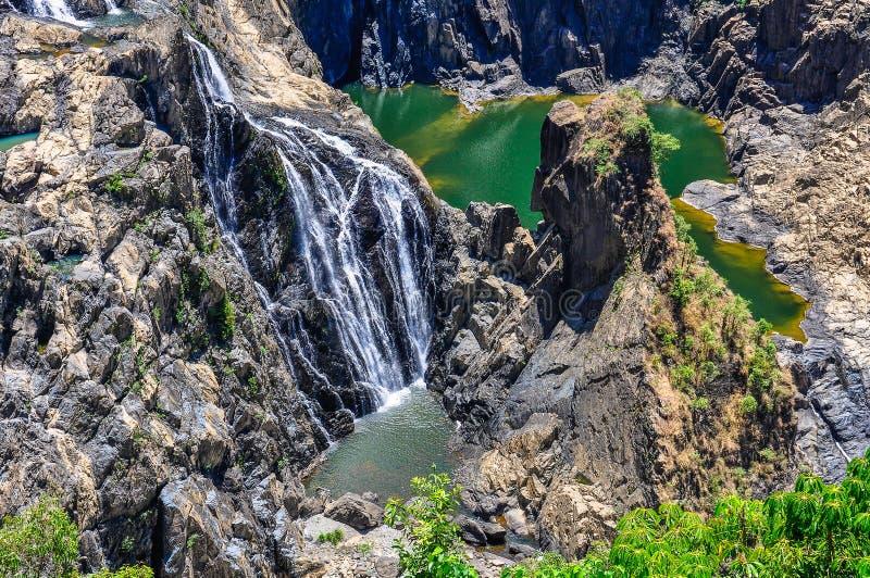 Barron Falls in Kuranda, Australia fotografia stock libera da diritti