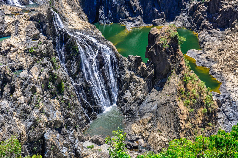 Barron Falls in Kuranda, Australia royalty free stock photography