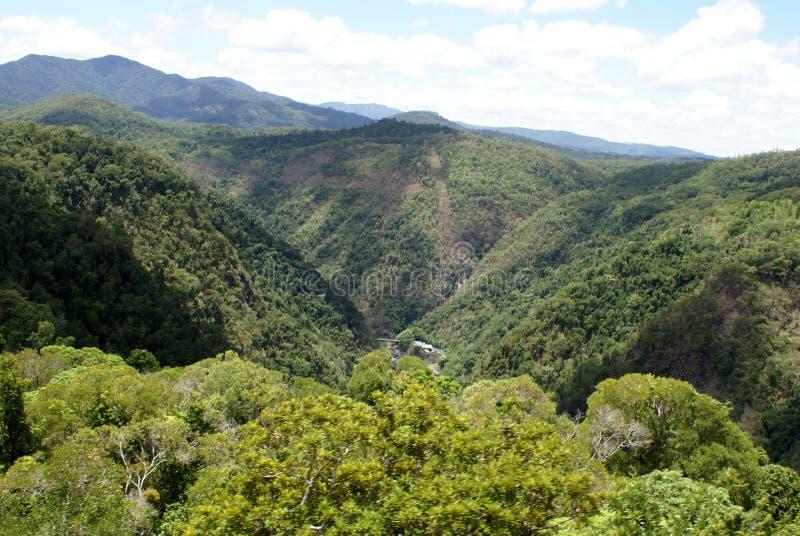 Barron Gorge National Park fotografia stock