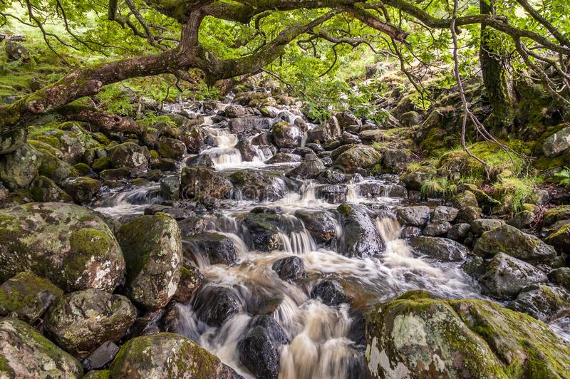 Barrow Beck in the Lake District, UK royalty free stock photography