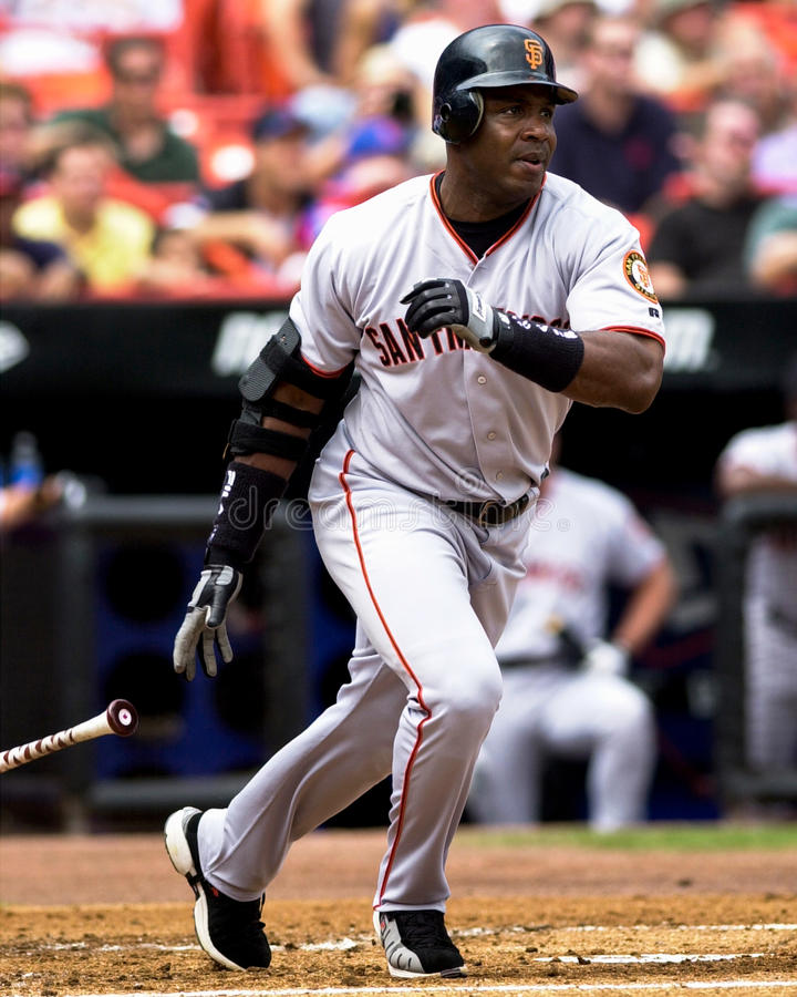Barry Bonds San Francisco Giants lizenzfreie stockfotos