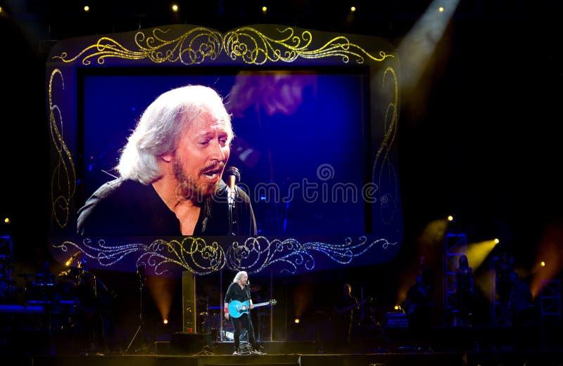 Barry Gibb arkivfoto