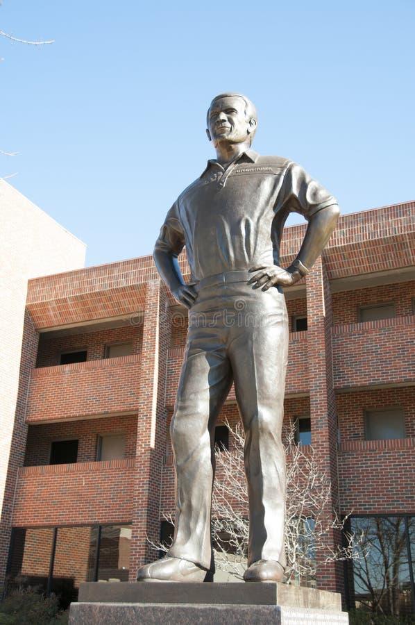 Barry-switzer Statue stockfotografie