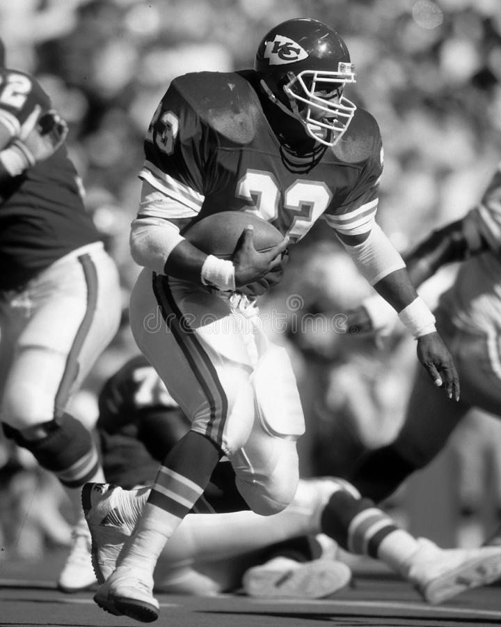 Barry Word. Kansas City Chiefs RB Barry Word #23. (Image taken from B&W negative stock images
