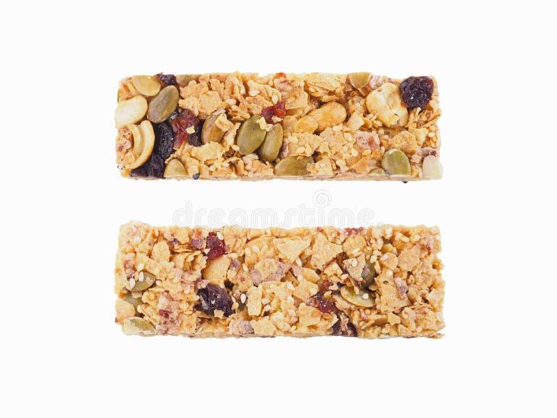 Bars de granola sains images stock