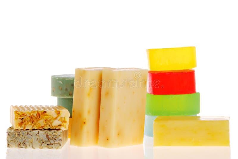 Bars de savon image stock