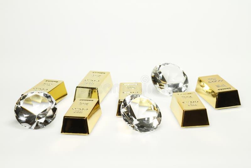 bars diamantguld royaltyfri fotografi