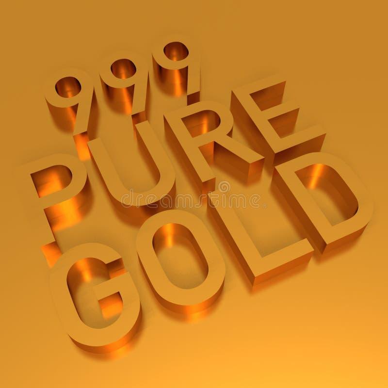 bars guldtackaguld royaltyfri illustrationer