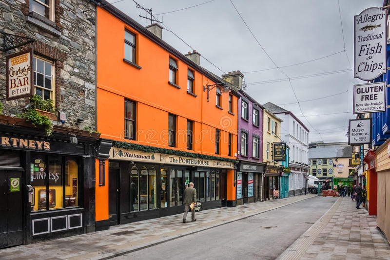 Bars and pubs in Ireland royalty free stock photography