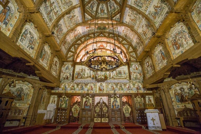 barsana修道院罗马尼亚 免版税库存照片