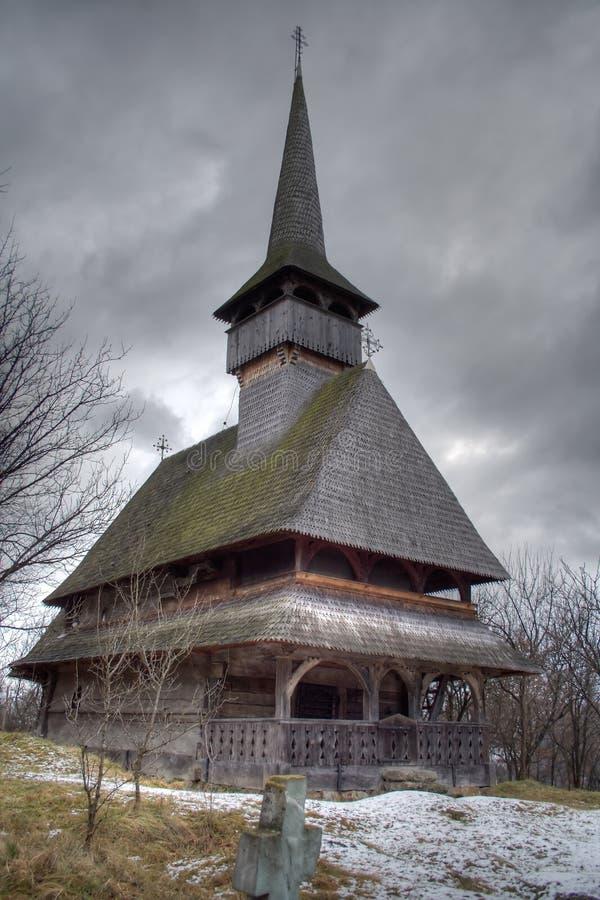 barsana教会 库存图片