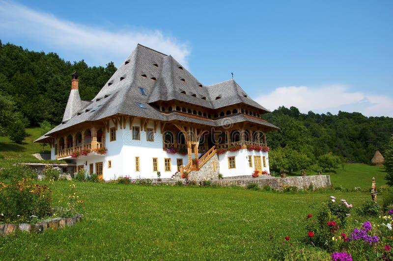 barsana manastirea mm obrazy royalty free