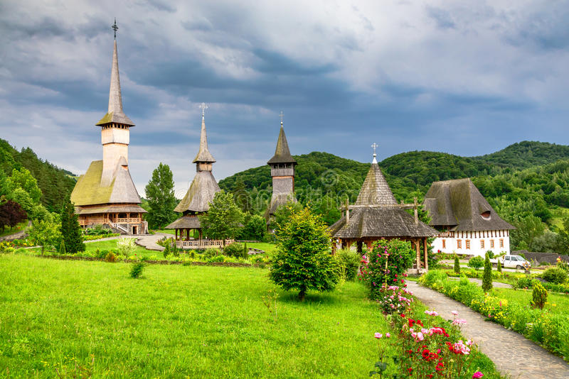 Barsana, Maramures, Romania immagine stock libera da diritti